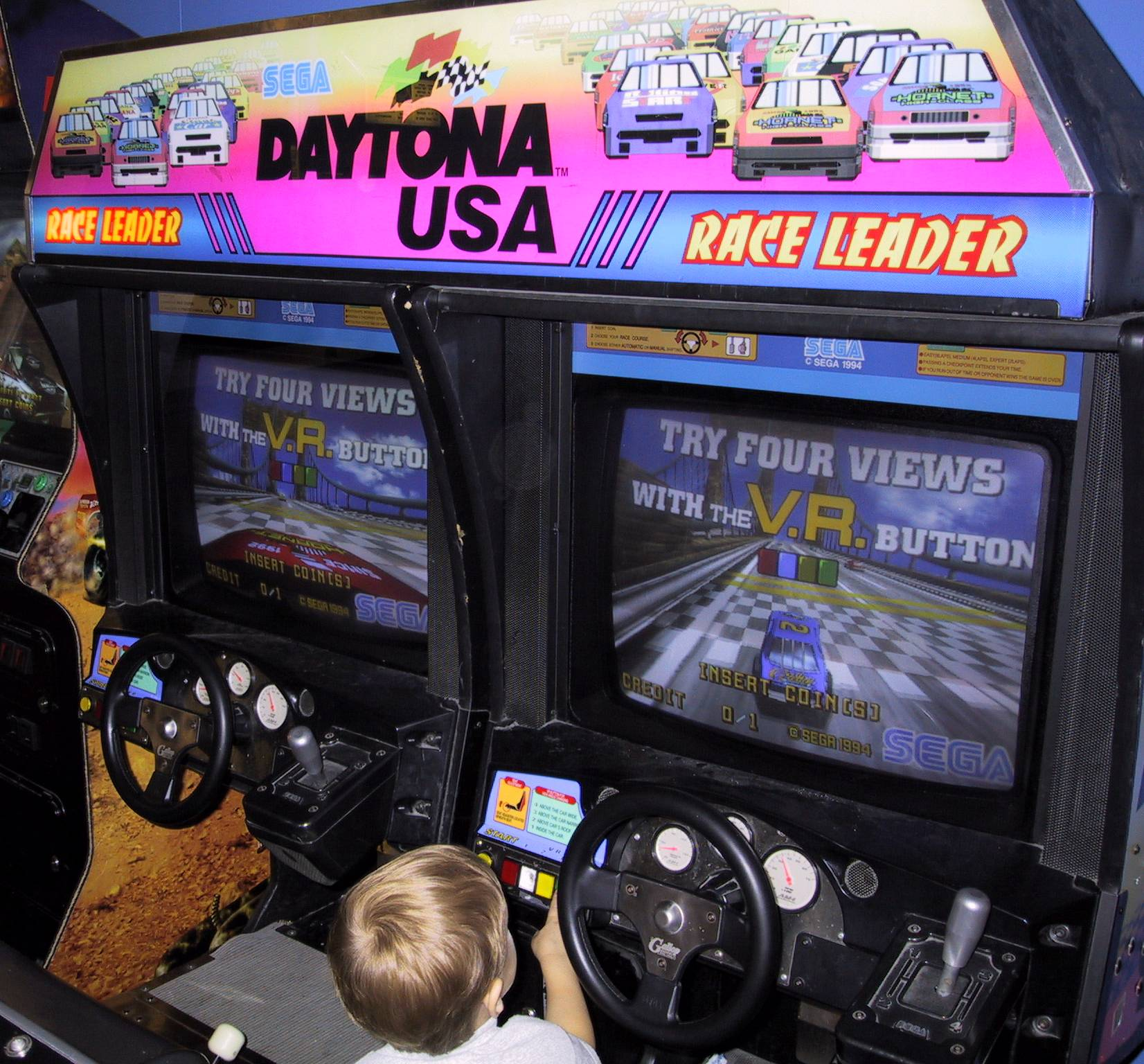 Sit Down Driving Game