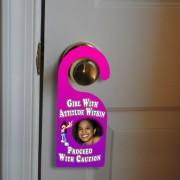 custom door hangers