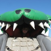 Tyrone the T-rex inflatable rental