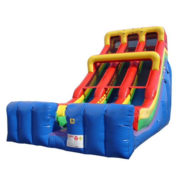 24ft dual lane slide rental