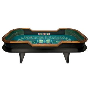 full size craps table rentals