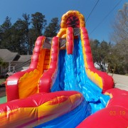 Fire and Ice Slide Rental by NY Party Works