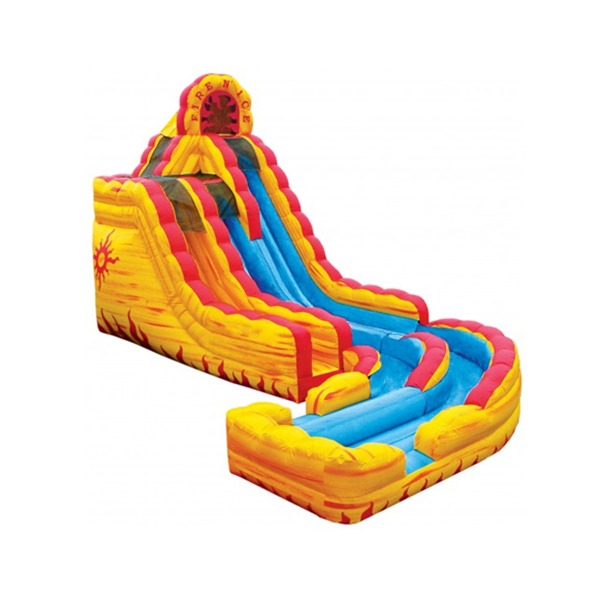 Fire and Ice Water Slide Rental by NY Party Works