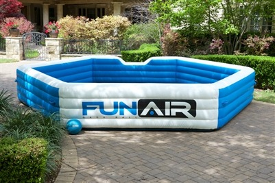 Gaga Ball Pit Inflatable Rental From Ny Party Works