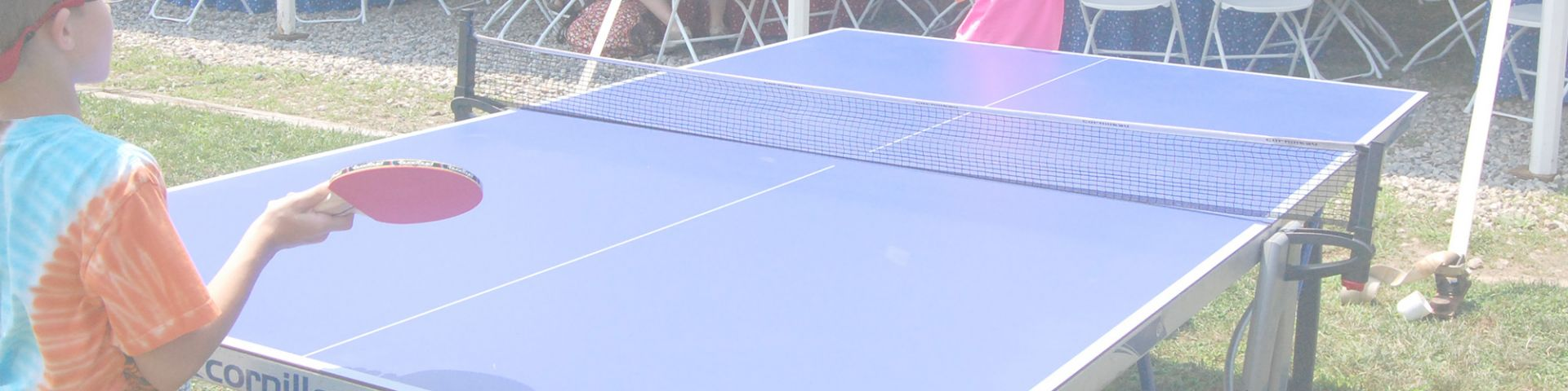 Giant ping pong table