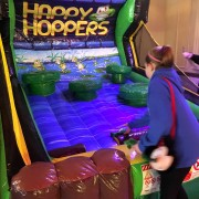happy hoppers frog inflatable game