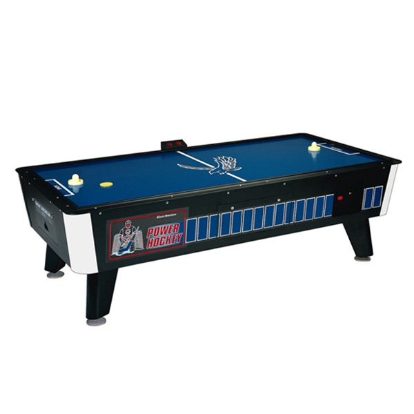 Ft500gf advantagep 56 goal flex technology foosball table with a red