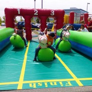 horse race inflatable