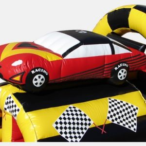 race car obstacle course