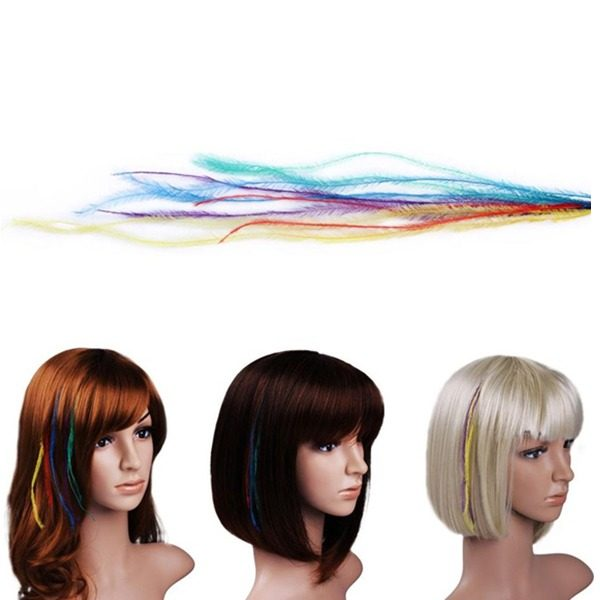 feather hair extension
