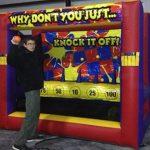 knock down carnival rental