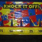 knock down carnival game
