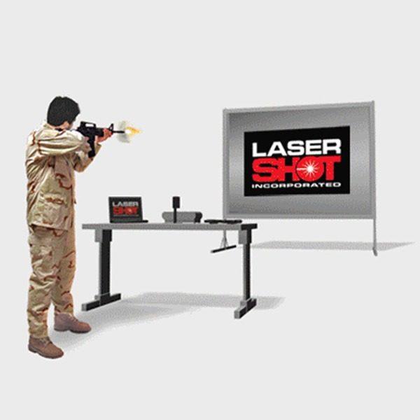 Laser Shot Simulator