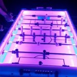 led foosball table rental