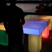 led ping pong tabel