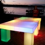 led ping pong tabel