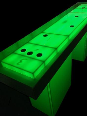 led shuffle board