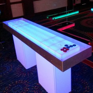 led shuffleboard rental