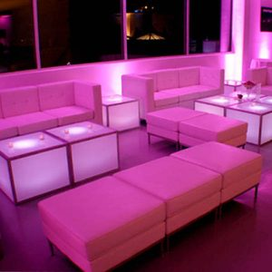 Lounge Furniture Rentals by NY Party Works