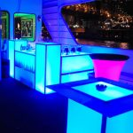 Light Up Bar Furniture Rentals by NY Party Works