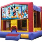 mickey bounce house rental