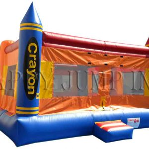 Crayon Bounce Inflatable Rental From Ny Party Works