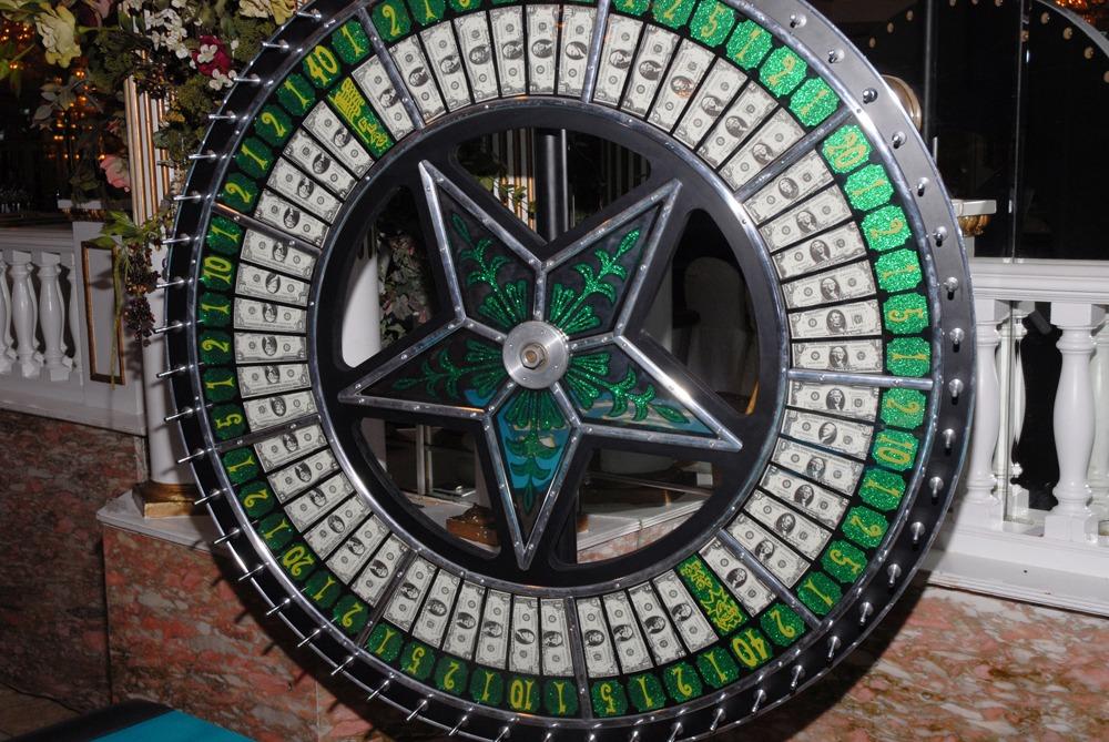 gambling wheel rental