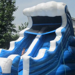 mungo inflatable water slide