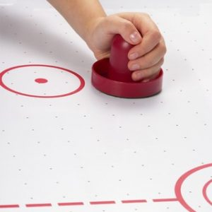 six sided hair hockey table