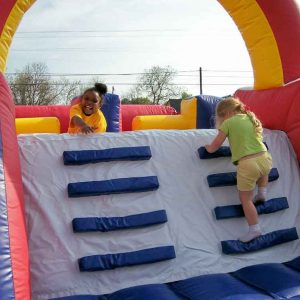 obstacle course party rental