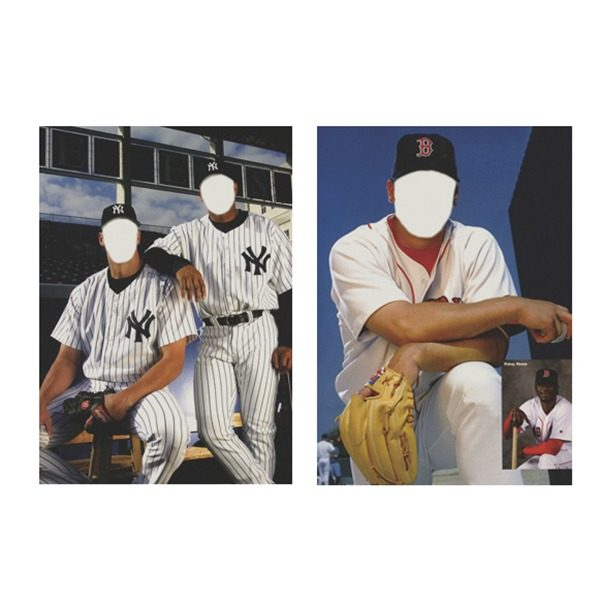 Baseball photo illusions