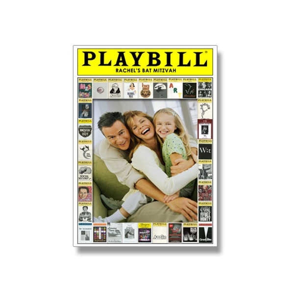 Bat Mitzah Playbill