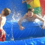 rainbow waterslide