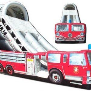 18ft Fire Truck Slide