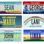 license plates custom