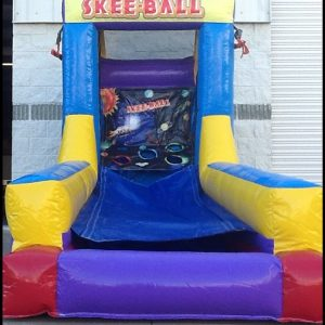 Skee Ball inflatable