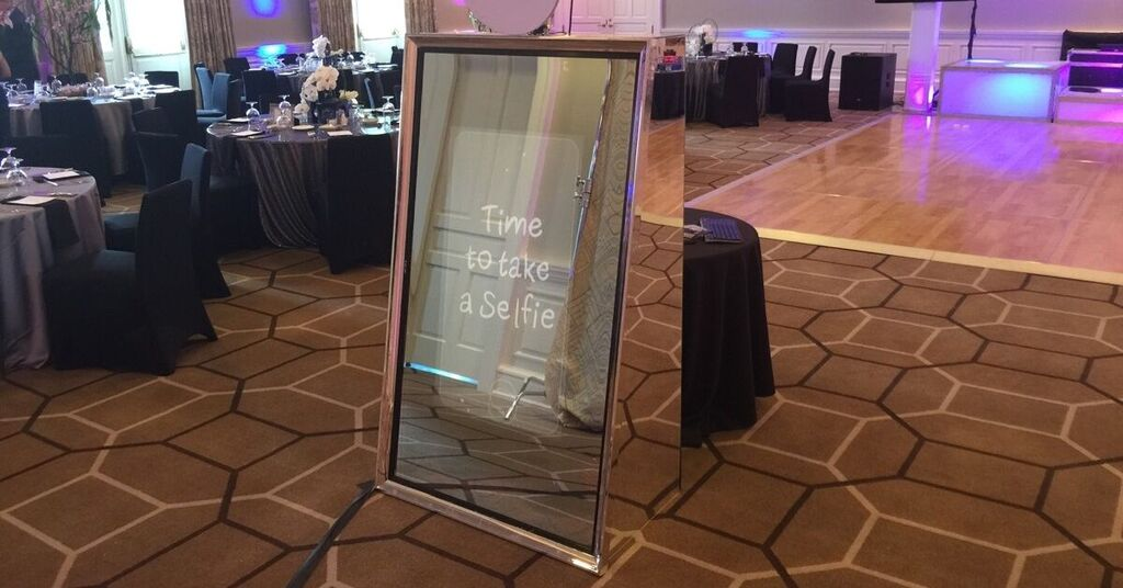 Photo Booth Selfie Mirror Rentals by NY Party Works
