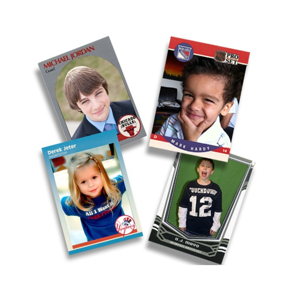 custom photo sports cards