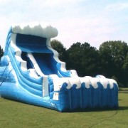 22 mungo water slide