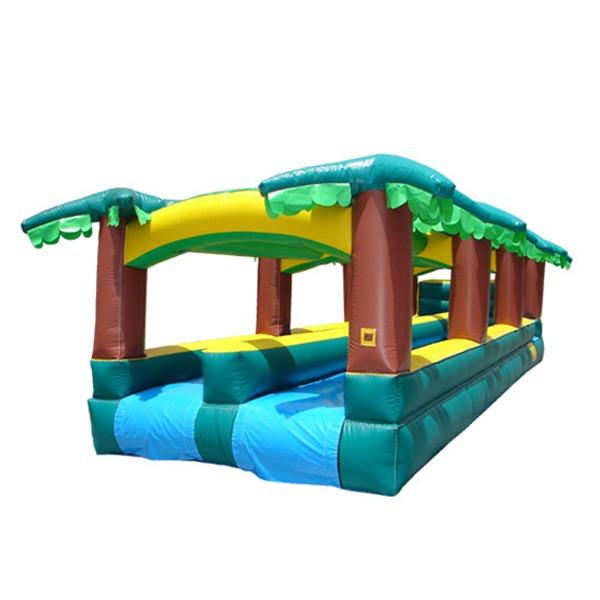 Tropical slip & slide race blow up