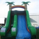 tropical dry water slide