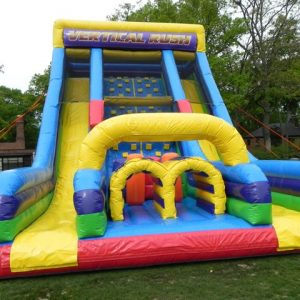 Vertical rush obstacle course