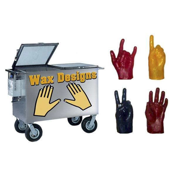 wax hand designs