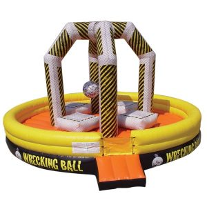 full size wrecking ball rental bounce
