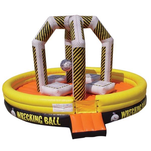 full size wrecking ball rental bounce
