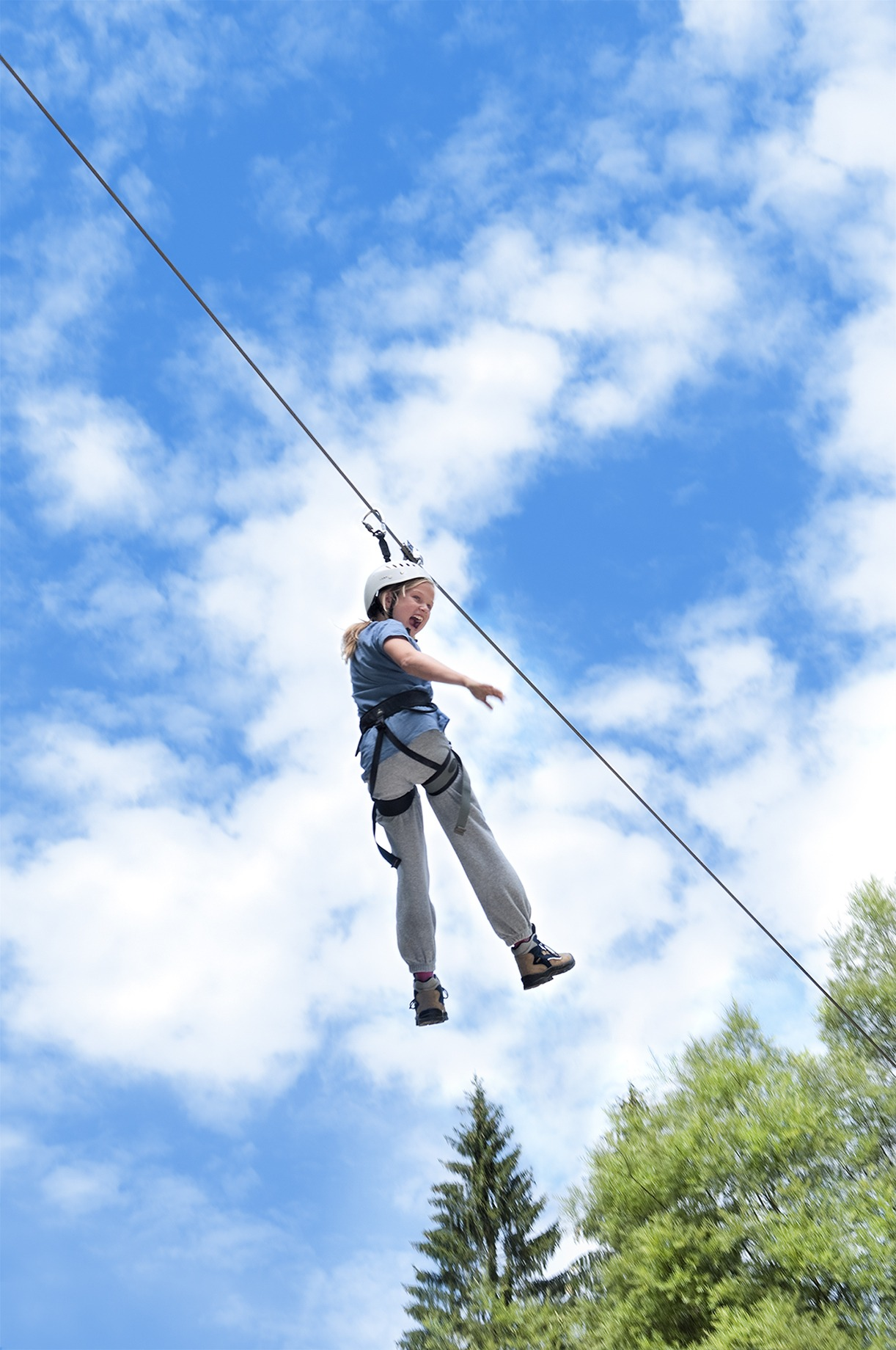 Cable Zip Line : Zip line carnival rentals from ny party works