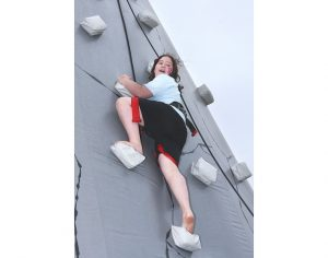 NY Party Works Inflatable Rockwall