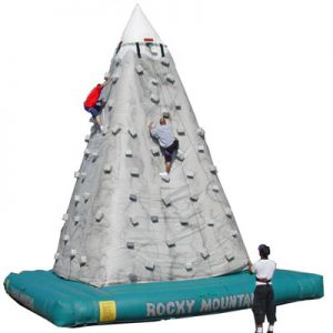 Rocky Mountain Inflatable Rockwall from NY Party Works
