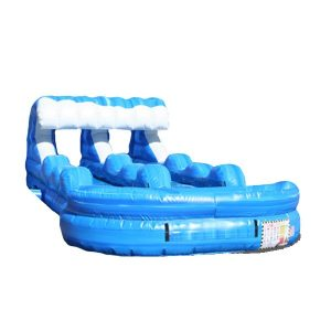 Tsunami Dual Slip & Slide from NY Party Works