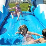 Dual Lane Tsunami Slip & Slide from NY Party Works
